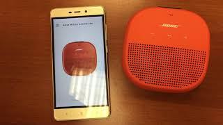 Présentation de l'enceinte Micro SoundLink de Bose