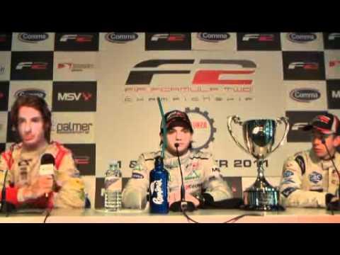Formula Two Press Conferrence - Monza, Race 1