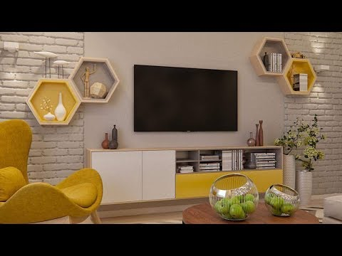 Modern tv wall mount stand decoration ideas modern tv - Hanging tv on wall ideas ...