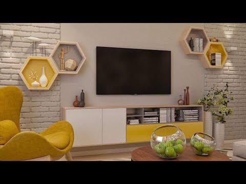 Modern TV Wall Mount Stand Decoration Ideas / modern TV ...
