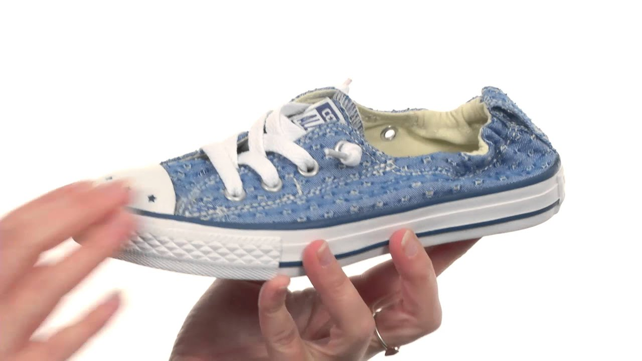 968263e05300 Converse Kids Chuck Taylor® All Star® Shoreline Star Perf Slip (Little Kid Big  Kid) SKU 8459095