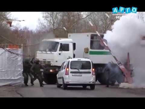 В УФСИН России по Смоленской области состоялись тактико-специальные учения