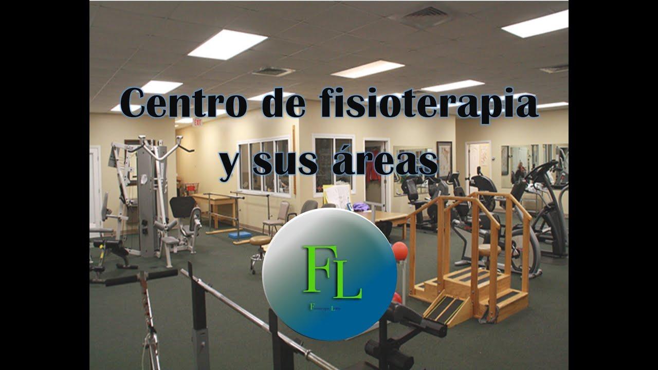 Centro de fisioterapia y sus áreas - YouTube