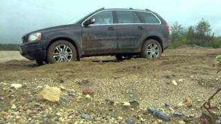 Volvo xc90 D5 R18 small test 4WD