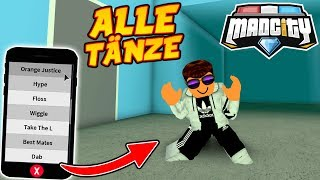 💃 ALLE *TANZ EMOTES* IN MAD CITY ROBLOX