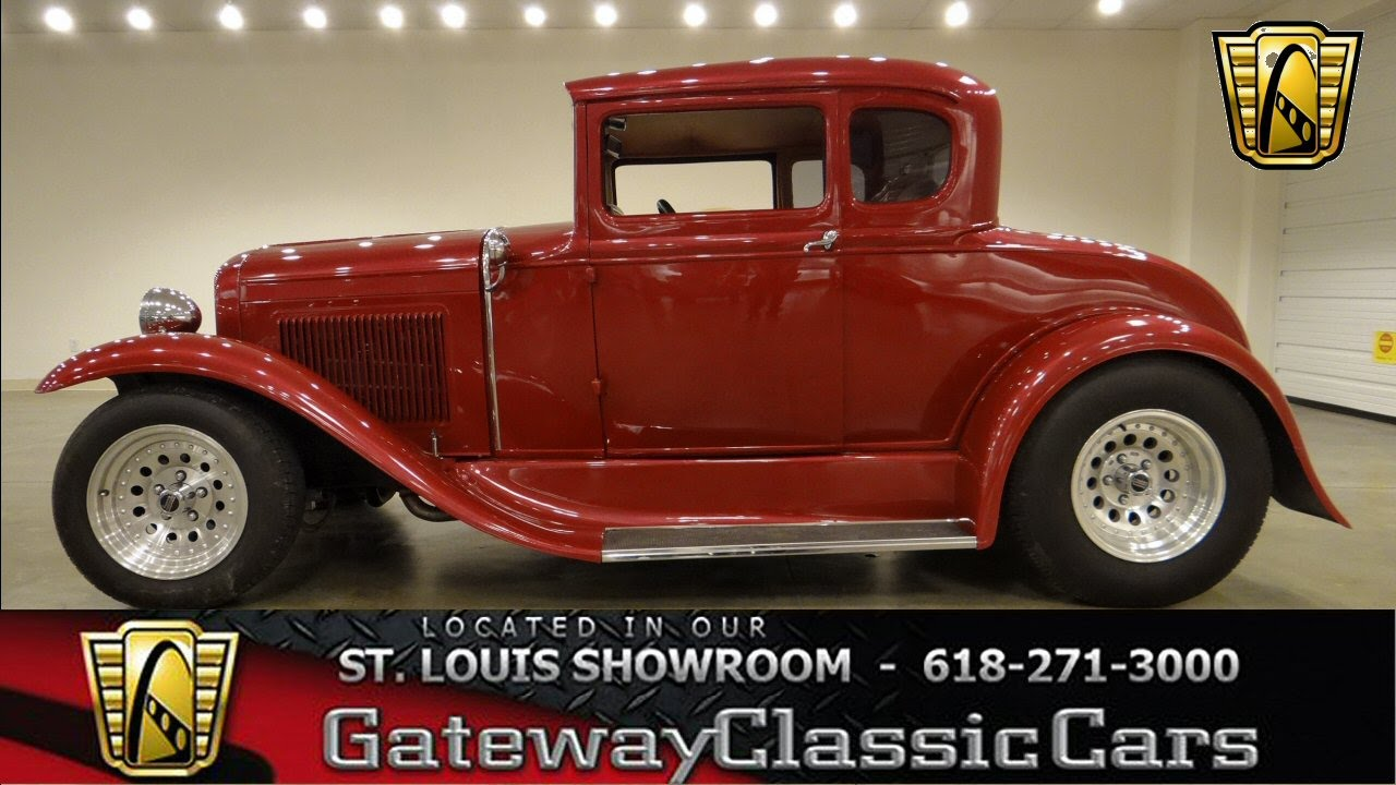 1930 5 window coupe stock 6225 for sale at gateway classic cars st louis youtube. Black Bedroom Furniture Sets. Home Design Ideas