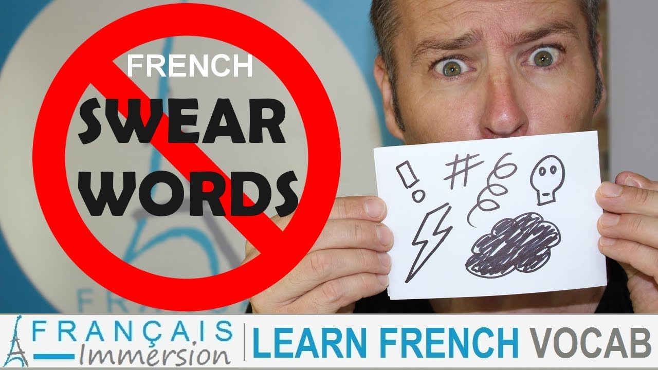 How to say words swear in french