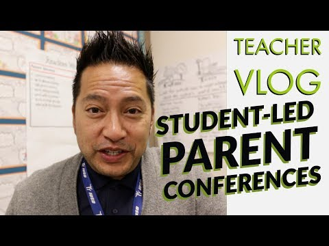 Teacher VLoG About Technology -  Student Led Parent Conference