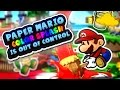 Paper Mario: Color Splash is Out of Control!