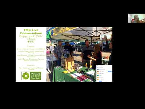 Farmers Markets Host Successful Visits by Public Officials