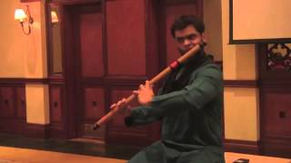 Jay Thakkar - Flute - Live in Goa - Raag Miyan ki Malhar - Aalap & Jod