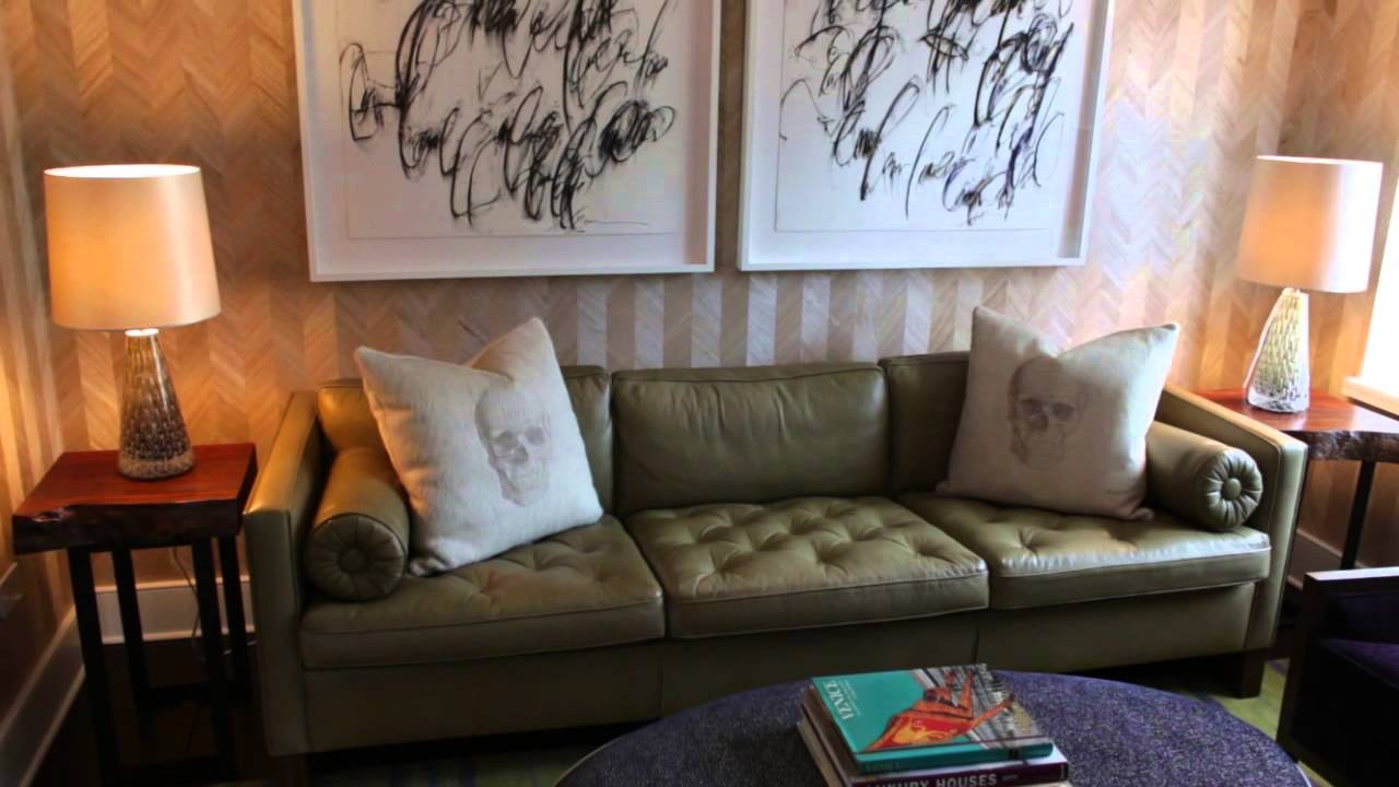 How To Group Furniture Around A TV As A Focal Point : Design Tips