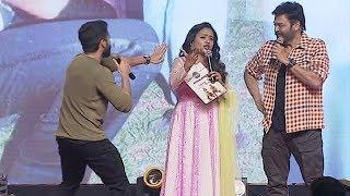 Suma Funny Questions To Venkatesh And Naga Chaitanya   Venky Mama Musical Night   NTV Entertainment