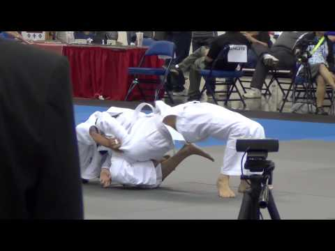 "Timothy ""T.J."" Triguero 2015 USJA/USJF Junior Judo Nationals Round 3"