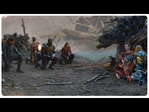 Iron man Death Scene \u0026 Avengers Tribute - Deleted Scene - AVENGERS 4 ENDGAME (2019) Movie CLIP HD