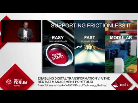 Highlights from Red Hat Forum Sydney 2016: Frank Feldmann