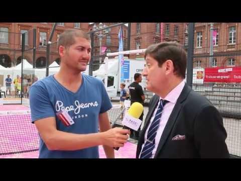 Interview du Ministre des Sports Patrick Kanner - Open de France 2016