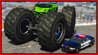 GTA 5 Roleplay - I BUILT CUSTOM OFFROAD LAMBORGHINI & COPS HATED IT | RedlineRP