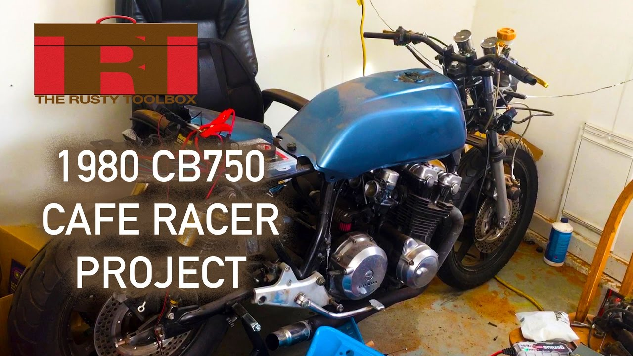 medium resolution of 1980 honda cb750 cafe racer project wiring controls the rusty toolbox