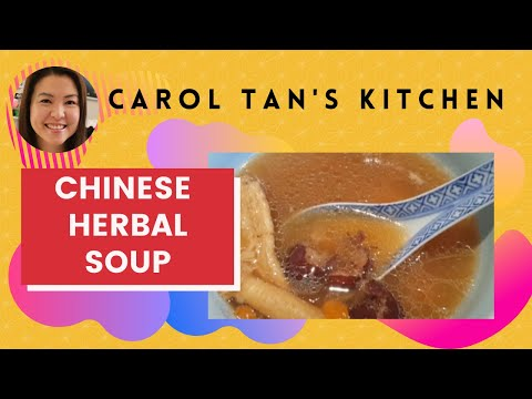 How to make Chinese Herbal Chicken Soup