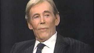 Peter OToole on Charley Rose Program  - 1993