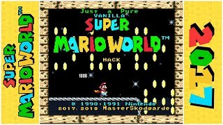 Just a Pure Vanilla Super Mario World Hack (Demo) | Super Mario World Hack
