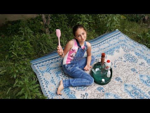 Bahçede Slime Yaptık , DIY - Kendin Yap | Bahçe Vlog | Fenomen Tv