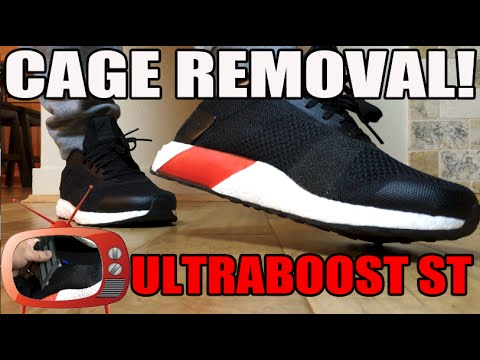 the best attitude 3313e 51e83 How To Uncage / Straps From adidas Ultra Boost ST Tutorial ...