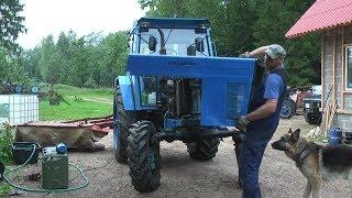 Belarus MTZ-82 restoration project. Part 16 | Steering Wobble Repair