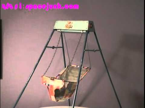 Swyng-O-Matic 1950s Baby Swing