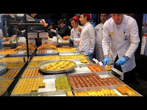 Eminönü, Sirkeci, Spice Bazaar Istanbul - Food Tour
