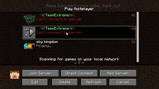 How to fix can t connect server in minecraft videos / Page 2
