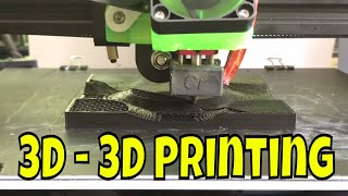 Real 3D - 3D printing with non planar slicing