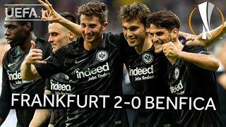 FRANKFURT 2-0 BENFICA #UEL HIGHLIGHTS