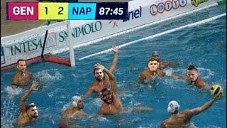 Ma era calcio o PALLANUOTO? Partita da SOSPENDERE? Genoa - Napoli 1-2