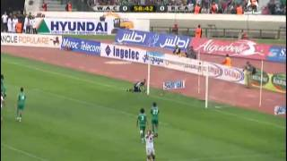 youssef sahib fe raja wac vs rca 1 1 2011