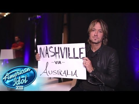 Keith Urban Returns! - AMERICAN IDOL SEASON XIII