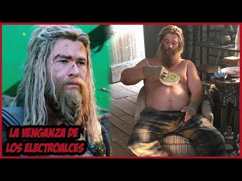 ¿Por Qué  Thor es Gordo en Avengers Endgame?