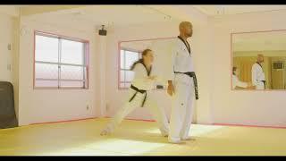 Hoshinsul #6 Both side wrist grab from behind (For Quiet Flame Taekwondo Blue Belt)