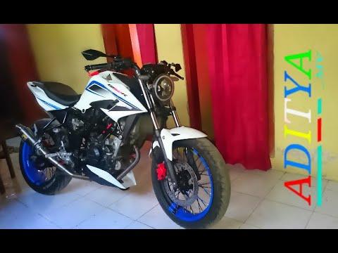 New Cb 150 R Modif Velg Jari Tapak Lebar