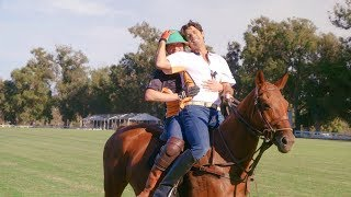 Pro Athlete Nacho Figueras Teaches Andy Zenor How to Play Polo