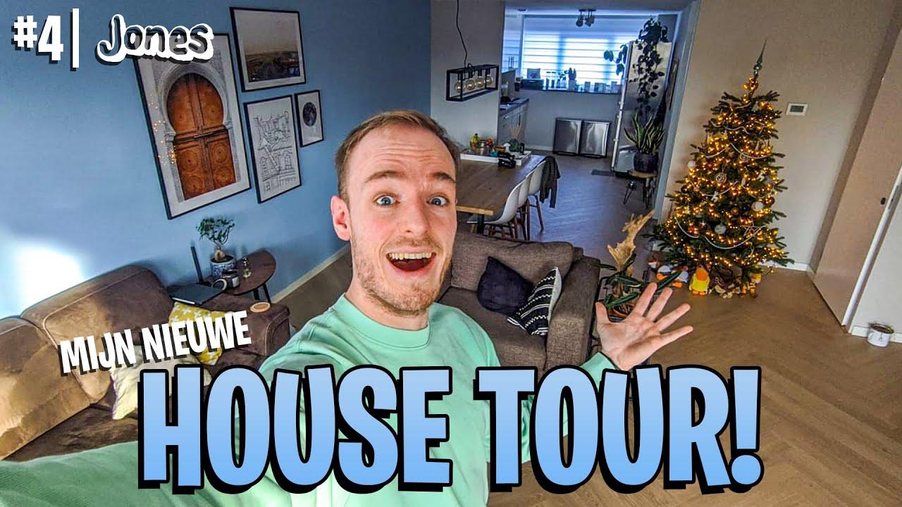 HET HUIS IS AF! (House Tour) | Jones #4