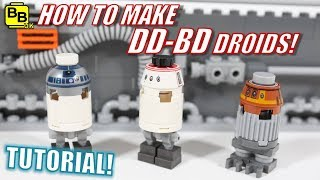 LEGO STAR WARS GG-BD DROİD MİNİFİGURE NASIL!