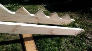 видео Деревянные лестницы для дома и дачи своими руками