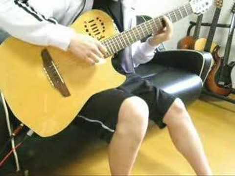 "GHOST IN THE SHELL S.A.C 2nd GIG ""i do"" on guitar"