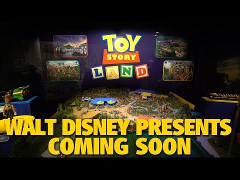 Walt Disney Presents Toy Story Land Model and more coming soon | Disney's Hollywood Studios
