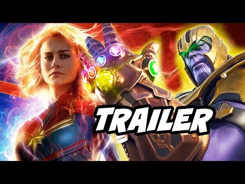 Captain Marvel Trailer 3 - How Marvel Is Tricking You and Thanos Avengers Endgame Mp3