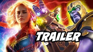 Captain Marvel Trailer 3 - How Marvel Is Tricking You and Thanos Avengers Endgame