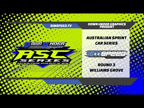 Australian Sprint Car Championship  |  Round 3  |  Williams Grove