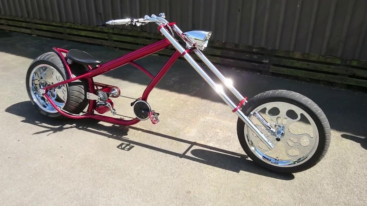 hannan custom chopper bike ls300 chopper bike youtube. Black Bedroom Furniture Sets. Home Design Ideas